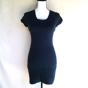 New, Fitted Blue Sweater Dress